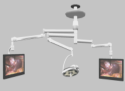 HarmonyAIR G-Series Single Light and 2 Monitor Arms